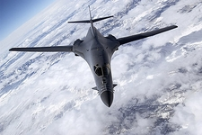 B-1 / B-1B Lancer Bomber in Flight Photo Print