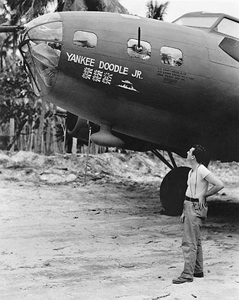 B-17 Flying Fortress 'Yankee Doodle, Jr.' WWII Photo Print