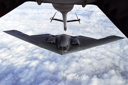 B-2 Spirit Stealth Bomber Refueling Photo Print