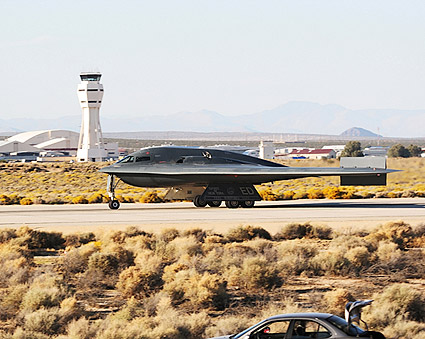 B-2 Spirit Stealth Bomber Taxiing Photo Print