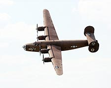 B-24 Liberator Bomber Diamond Lil Banking Photo Print for Sale