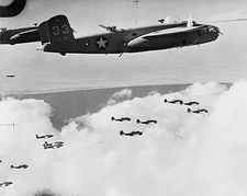 B-25 Mitchell & Baltimore Bombers WWII Photo Print