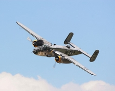 B-25 Mitchell Bomber Yankee Warrior Photo Print