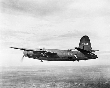 B-26 Martin Marauder WWII Aircraft Tunisia Photo Print