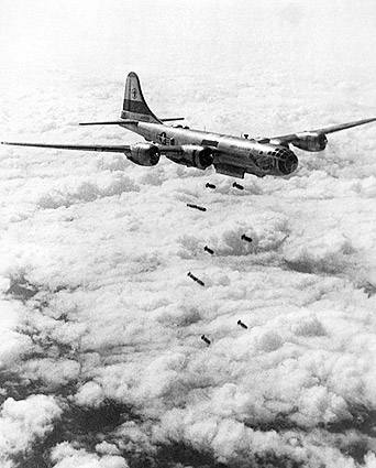 B-29 Superfortress Korean War Bombing Photo Print