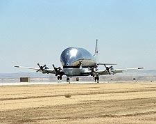 Boeing B-377 Super Guppy Turbine Photos