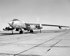 B-47 / B-47A Aircraft on Ramp NASA Photo Print