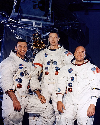 Backup Crew Engle, Cernan, and Evans Apollo 14 NASA Photo Print
