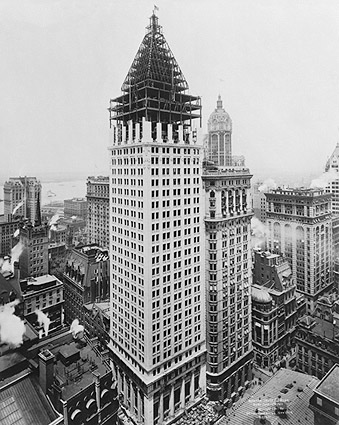 Bankers Trust Company Building, NYC 1911 Photo Print