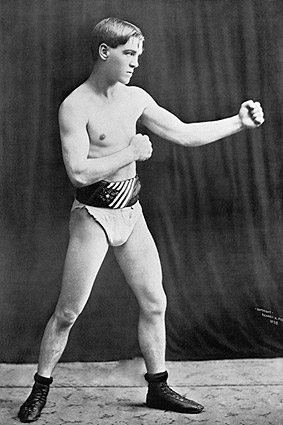 Bantam Boxer Terry McGovern Portrait 1898 Photo Print