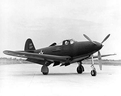 Bell P-39 Airacobra on Tarmac Photo Print