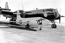 Bell X-1-2 on Ramp w/ Boeing B-29 Photo Print for Sale