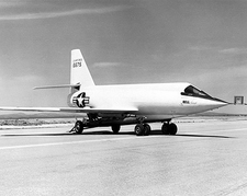 Bell X-2 Starbuster on Dolly Photo Print