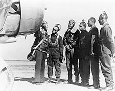 Benjamin Davis & 1st Tuskegee Airmen Photo Print for Sale