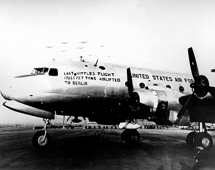 Berlin Airlift 1949 Last Vittles Flight Photo Print