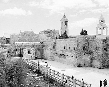 Bethlehem Church of the Nativity Exterior Photo Print