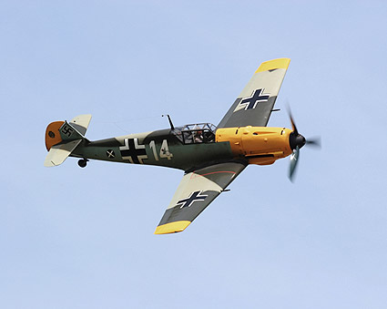 Bf 109 / Bf 109E German WWII Fighter Photo Print