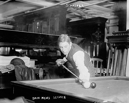 Billiards Champion Jacob Schaefer, Jr. 1923 Photo Print