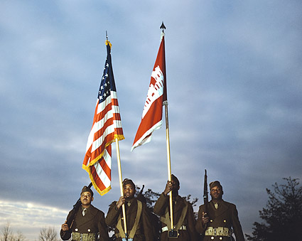 Black African American Color Guard 1941 Photo Print