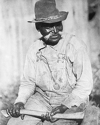 Black Appalachian Laborer by Doris Ulmann Photo Print