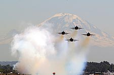 Blue Angels at Seattle Seafair Photo Print for Sale