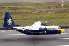 Blue Angels C-130 Hercules 'Fat Albert' Landing Photo Print for Sale
