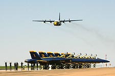 Blue Angels C-130 Hercules Transport 'Fat Albert'  Photo Print for Sale