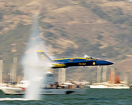Blue Angels Demonstration Solo Maneuver Photo Print