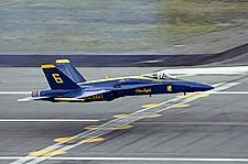 Blue Angels Jet Landing Photo Print for Sale
