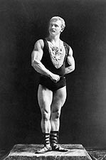Napoleon Sarony Portrait of Bodybuilder Eugen Sandow Photo Print for Sale