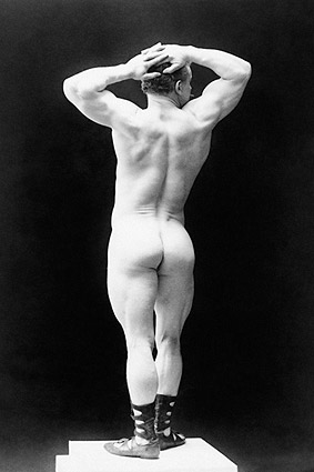 Body Builder Eugen Sandow Sarony Portrait Photo Print