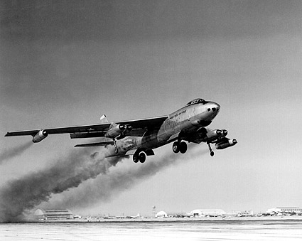 Boeing B-47 Stratojet Rocket Assist RATO Photo Print