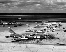 Boeing B-47E / B-47 Bomber Flight Line Photo Print for Sale