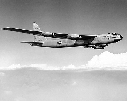 Boeing XB-52 / B-52 Prototype in Flight Photo Print