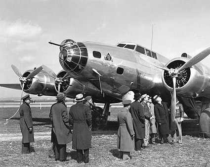 Boeing YB-17 / B-17 Franklin Roosevelt Photo Print
