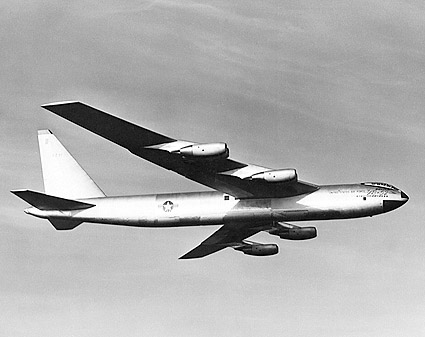 Boeing YB-52 in Flight Stratofortress Photo Print