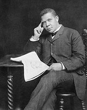 Booker T. Washington Portrait Photo Print for Sale