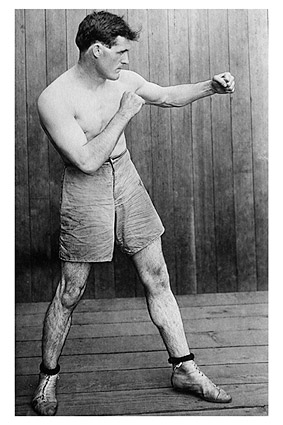 Boxer Dan A. Sullivan Boxing Pose Photo Print
