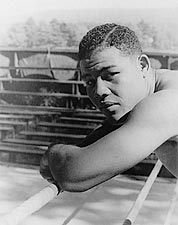 Boxer Joe Louis Portrait Before Nova Fight Photo Print for Sale