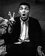 Boxer Muhammad Ali Clowning Around Portrait Photo Print for Sale