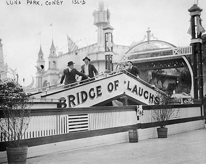 Bridge of Laughs Luna Park Coney Island NYC Photo Print