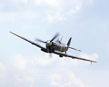 British WWII Supermarine Spitfire Plane  Photo Print