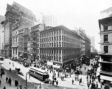 Broadway & Cortlandt St, New York City 1906 Photo Print for Sale