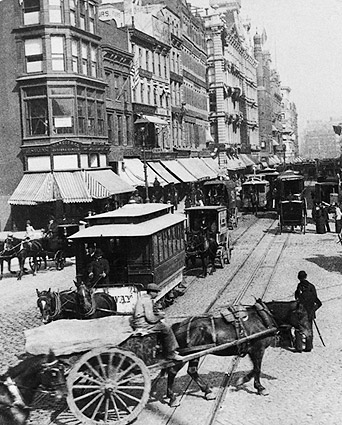 Broadway & Union Square, New York City 1892 Photo Print