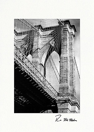 Brooklyn Bridge, New York City Individual Greeting Cards