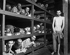 Buchenwald Concentration Camp Slave Laborers WWII Photo Print for Sale