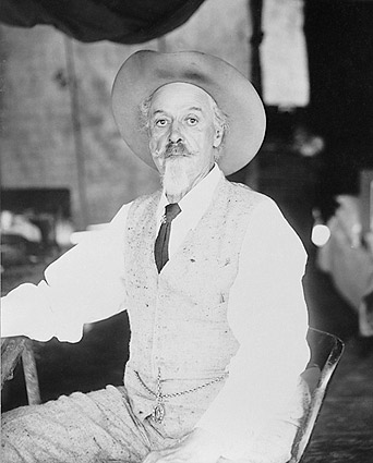 Buffalo Bill Cody Seated Portrait Photo Print