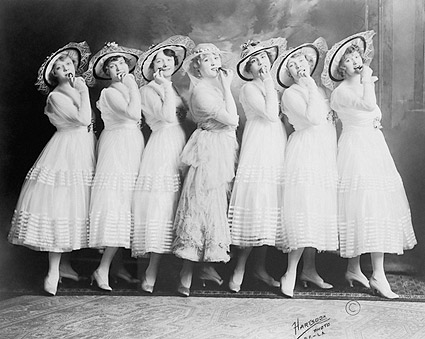 Burlesque Theater Canary Cottage Women Photo Print