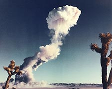 Buster-Jangle Nuclear Bomb Mushroom Cloud Photo Print for Sale