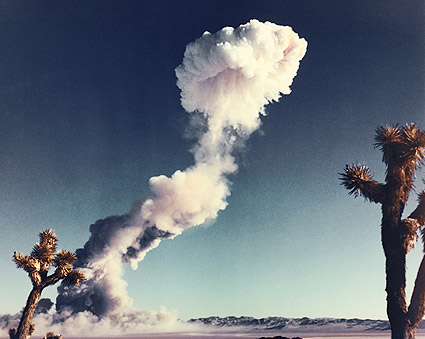 Buster-Jangle Nuclear Bomb Mushroom Cloud Photo Print